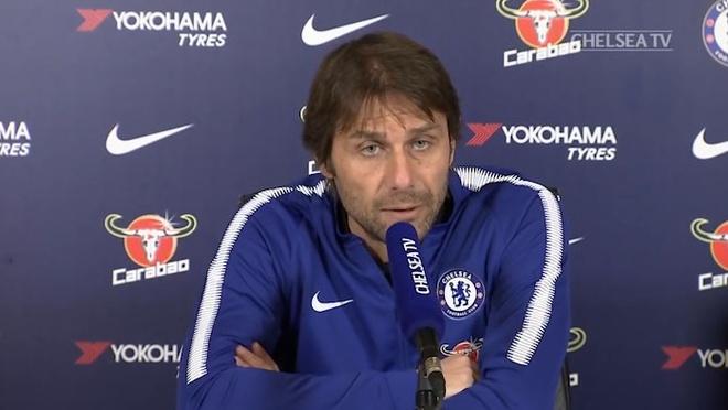 HLV Conte: 'Xoay tua doi hinh la giai phap cua Chelsea luc nay ' hinh anh