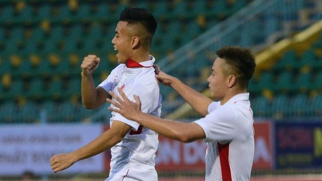 Highlights U19 Viet Nam cam hoa U21 Myanmar hinh anh