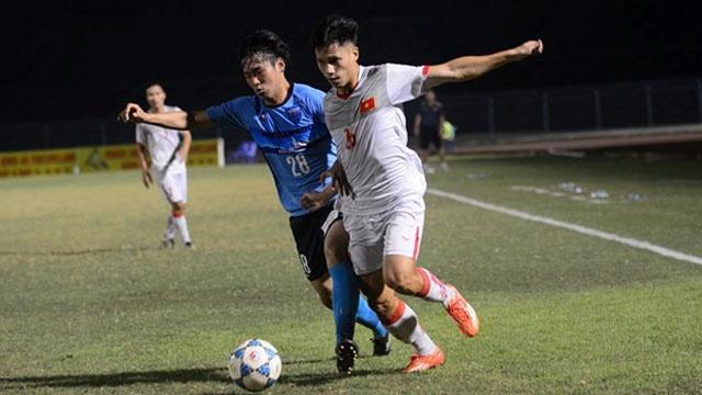 Highlights U21 Viet Nam 2-2 U21 Yokohama hinh anh