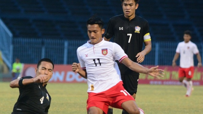 Highlights U21 Myanmar 4-2 U21 Thai Lan hinh anh