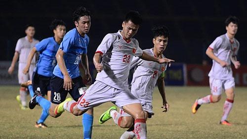 Highlights U21 Viet Nam 0-2 U21 Yokohama hinh anh