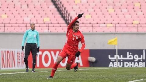 Highlights U23 Palestine 1-1 U23 Trieu Tien hinh anh