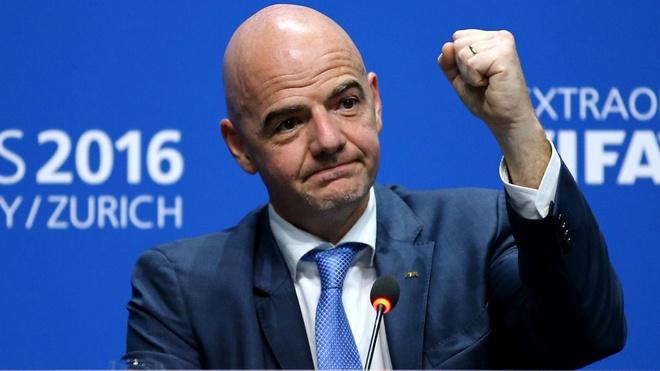Chu tich FIFA Gianni Infantino se den Viet Nam hinh anh 1