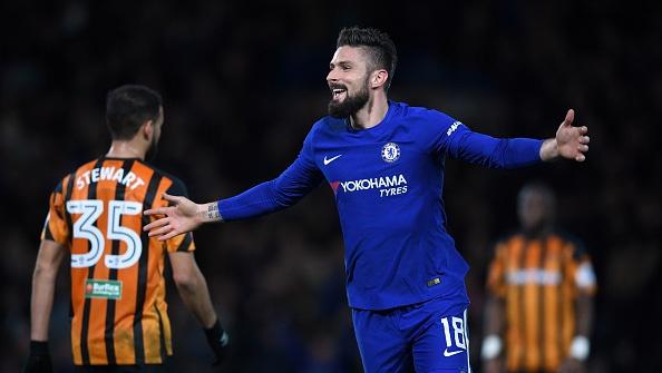 Highlights Giroud ghi ban giup Chelsea vao tu ket FA Cup hinh anh