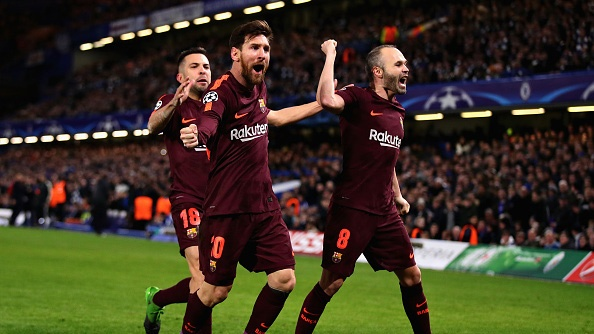 Chelsea 1-1 Barcelona: Messi xoa dop truoc The Blues hinh anh