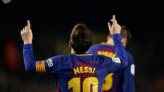 Pha ghi ban dang cap cua Messi vao luoi Atletico Madrid hinh anh