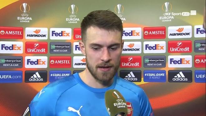 Ramsey: 'Chien thang truoc Milan cho thay ca tinh cua Arsenal' hinh anh