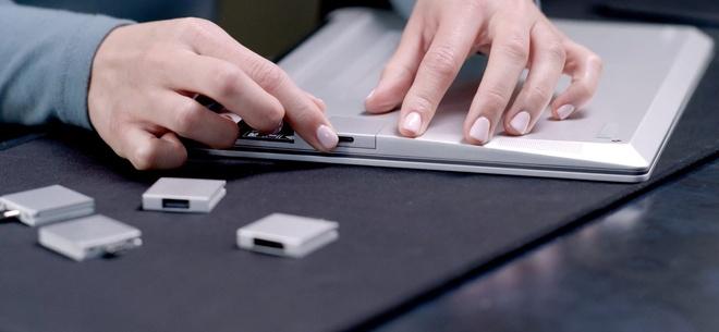 Chiếc laptop có thể thay thế linh kiện như máy bàn - Ảnh 2.