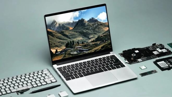 Chiếc laptop có thể thay thế linh kiện như máy bàn - Ảnh 1.
