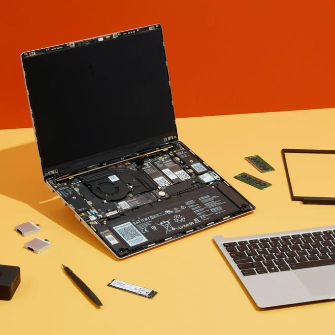 Chiếc laptop có thể thay thế linh kiện như máy bàn - Ảnh 3.