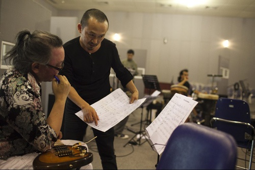Nguyen Le ve Viet Nam choi 'Da co hoai lang' hinh anh 1