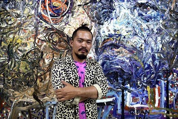 Nguyen Quoc Dan va nhung buc chan dung phi lap the hinh anh