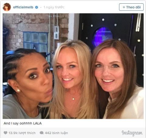 Spice Girls tai hop thu am ca khuc moi hinh anh 1