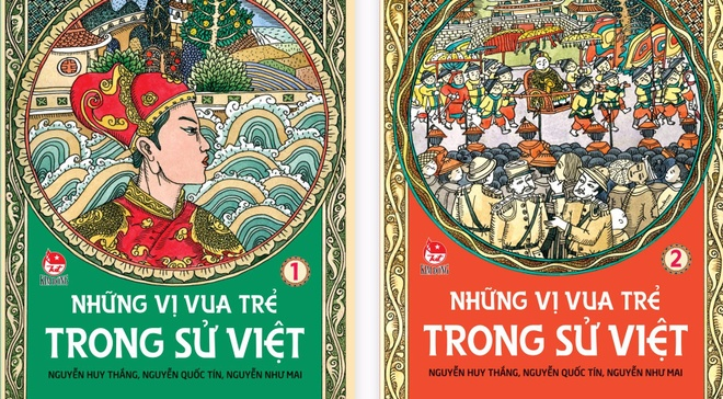 Nhung vi vua tre trong su Viet hinh anh
