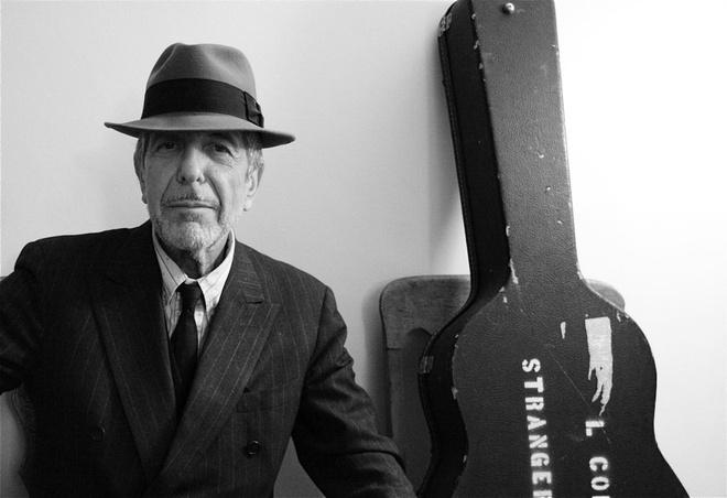 Nghe si huyen thoai Leonard Cohen qua doi o tuoi 82 hinh anh 1