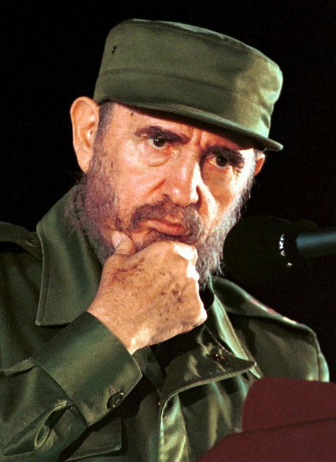 Fidel Castro va buc dien van co mot khong hai trong lich su hinh anh 1