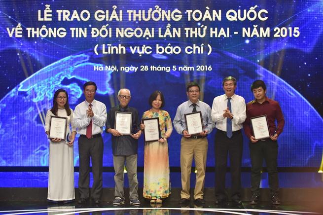 Phat dong Giai thuong toan quoc ve Thong tin doi ngoai 2016 hinh anh 1