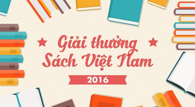 Giai thuong Sach Viet Nam 2016 qua nhung con so hinh anh