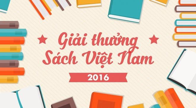 Giai thuong Sach Viet Nam 2016 trao vao ngay 28/12 hinh anh
