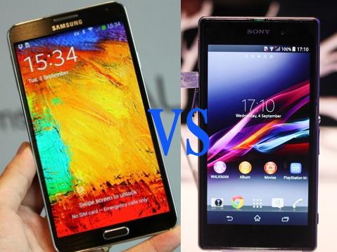 Galaxy Note 3 danh bai Xperia Z1 ve toc do hinh anh 1