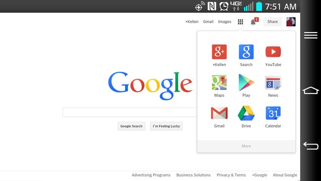 Google lo logo moi thiet ke phang hinh anh