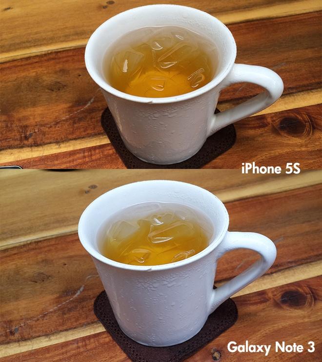 So sanh anh chup tu Galaxy Note 3 va iPhone 5S tai VN hinh anh 2
