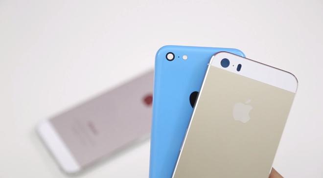 Viet Nam khong nam trong 41 nuoc ban iPhone 5S, 5C thang 11 hinh anh
