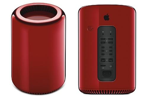 Mac Pro mau do gia 1,2 ty dong hinh anh