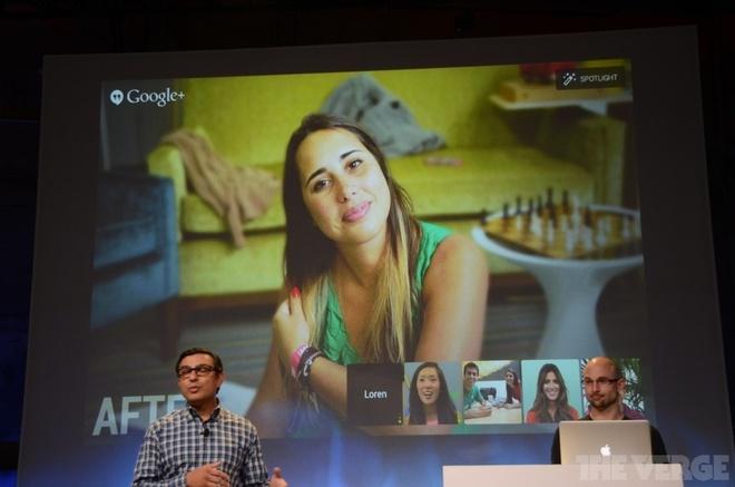 Google+ lam moi Hangouts, them nhieu tinh nang anh va video hinh anh