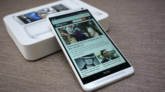 Mo hop HTC One Max 2 SIM ve Viet Nam gia 21,6 trieu dong hinh anh