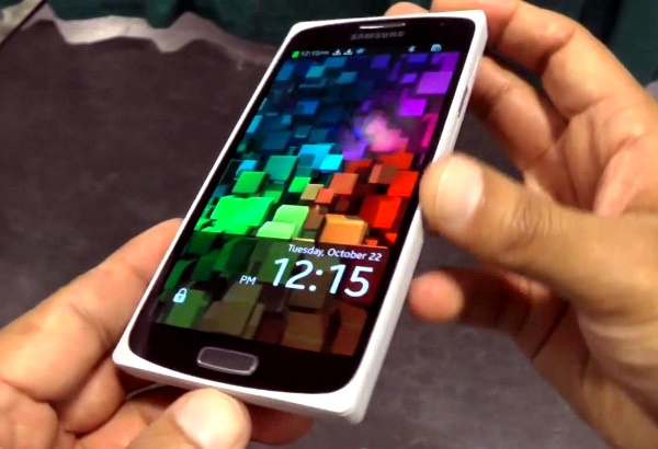 Smartphone la cua Samsung co cau hinh giong Galaxy S3 hinh anh