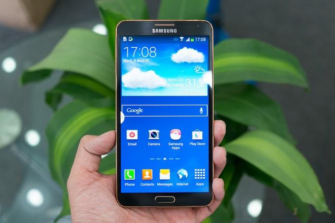 Mo hop Galaxy Note 3 vien vang gia 13,5 trieu tai Viet Nam hinh anh