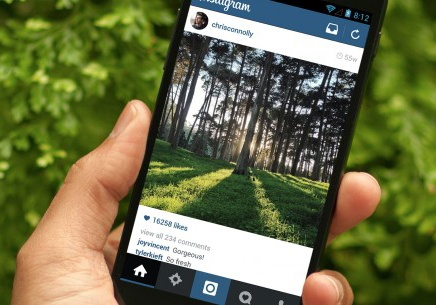 Instagram tren Android cap nhat giao dien phang hinh anh