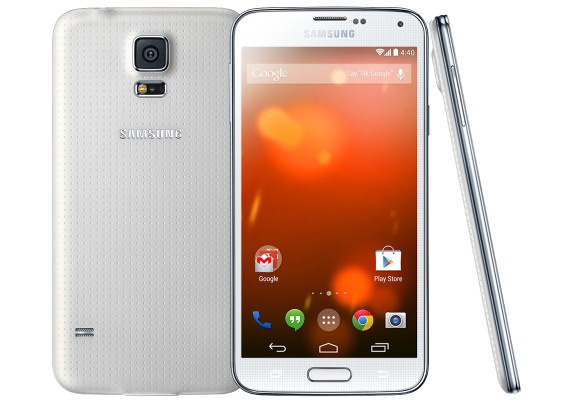 Samsung Galaxy S5 phien ban thuan Android lo dien hinh anh