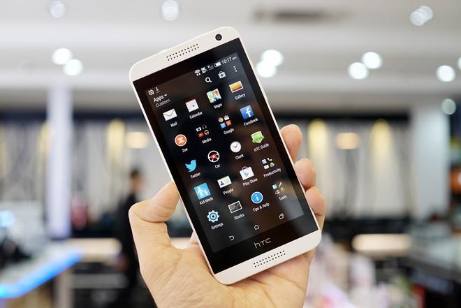 Mo hop HTC Desire 610 giong iPhone 5C gia 6,9 trieu tai VN hinh anh