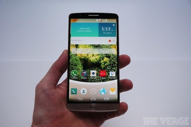 LG G3 là smartphone cao cấp có màn hình nét nhất hiện nay, vượt qua giới hạn nhận biết của mắt người