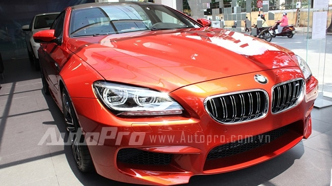 Can canh BMW M6 Gran Coupe gia 6,268 ty dong tai Viet Nam hinh anh