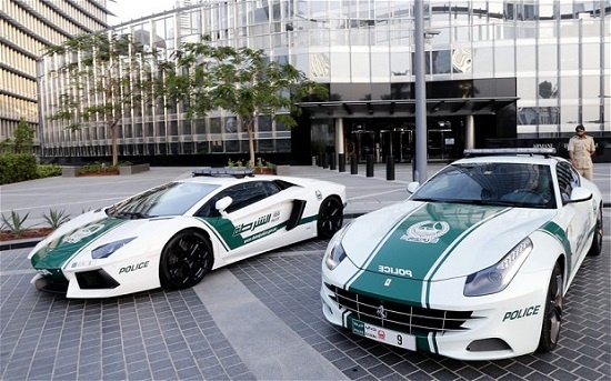 Canh sat Dubai tung clip khoe toan sieu xe hang hiem hinh anh