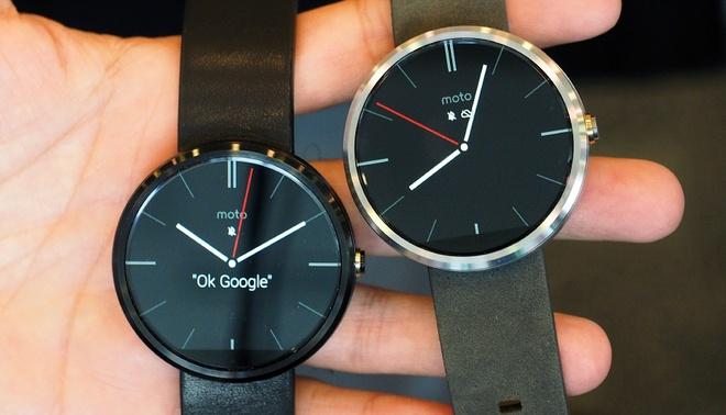 Google I/O 2014: Android L, smartphone sieu re, Moto 360 hinh anh