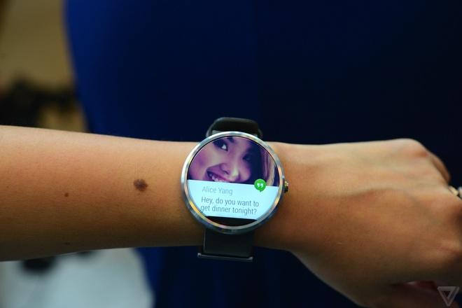Google I/O 2014: Android L, smartphone sieu re, Moto 360 hinh anh 6