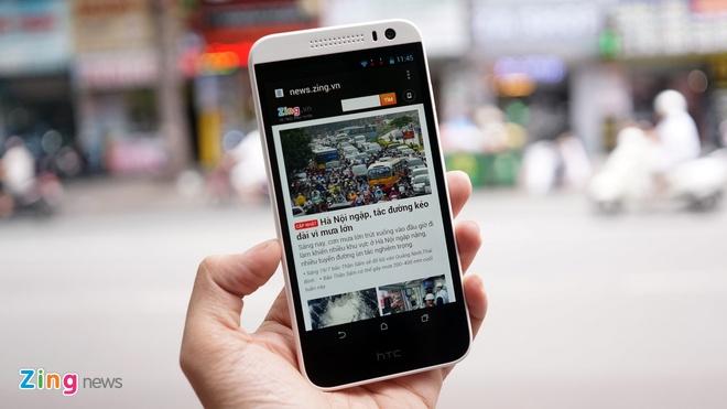Mo hop HTC Desire 616 chip loi 8 vua ve VN gia 5,2 trieu hinh anh 9