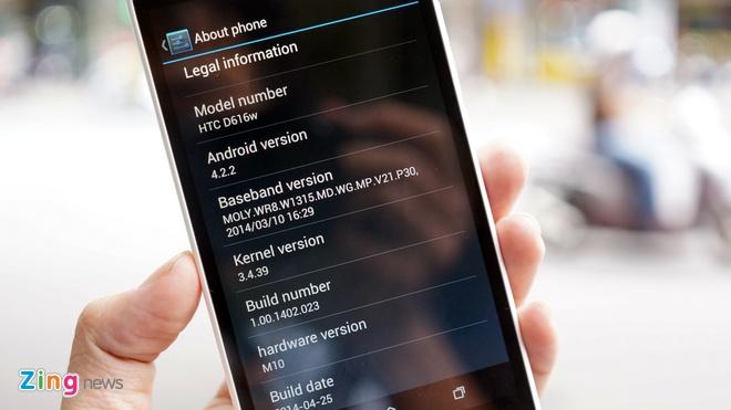 Mo hop HTC Desire 616 chip loi 8 vua ve VN gia 5,2 trieu hinh anh 12