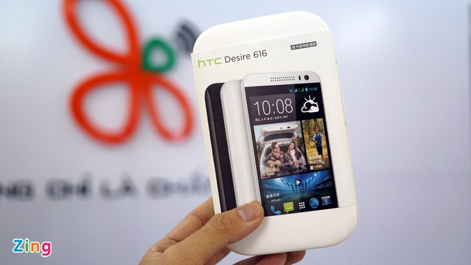 Mo hop HTC Desire 616 chip loi 8 vua ve VN gia 5,2 trieu hinh anh 1