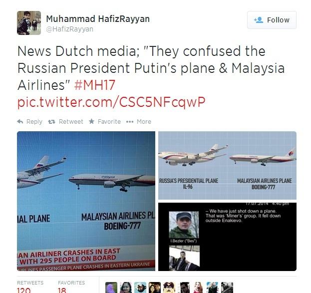 Facebook, Twitter day song sau vu may bay MH17 gap nan hinh anh