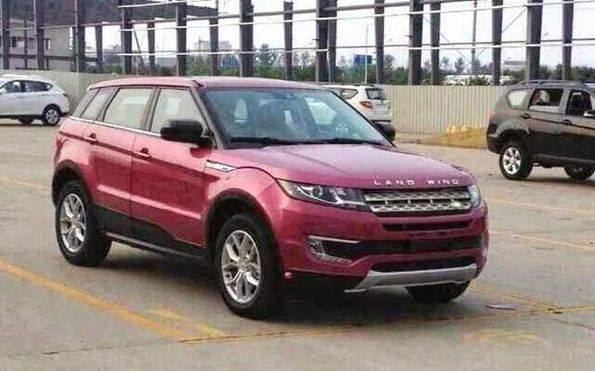Hang xe Trung Quoc nhai trang tron Range Rover Evoque hinh anh