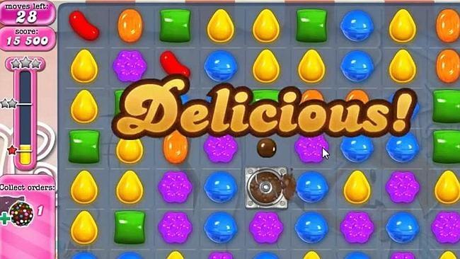 Hình Ảnh Trong Game Candy Crush.