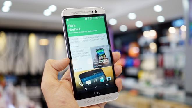 Mo hop HTC One E8 chinh hang vua len ke gia 12 trieu dong hinh anh