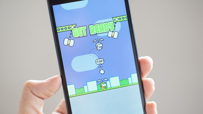 Game Swing Copters cua Nguyen Ha Dong kho hon ca Flappy Bird hinh anh