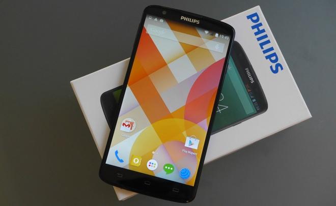 Philips sap ban smartphone 6 inch pin khoe gia gan 9 trieu hinh anh