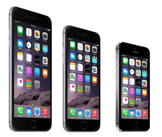 iPhone 6, 6 Plus va iPhone 5S do cau hinh chi tiet hinh anh